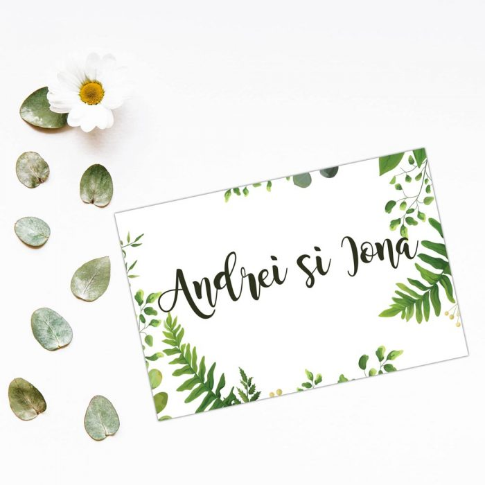 Place Card nunta