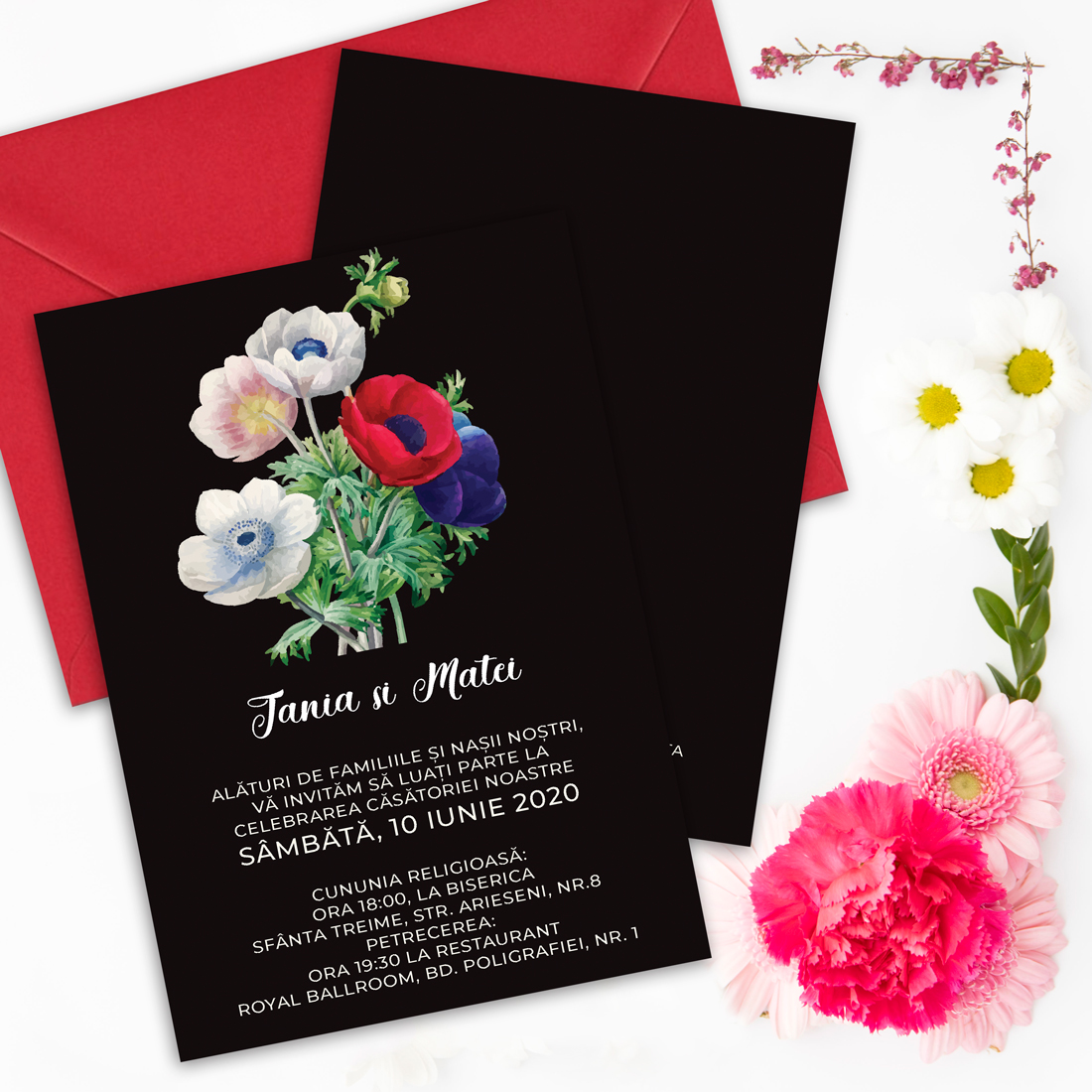 invitatie nunta simple or not