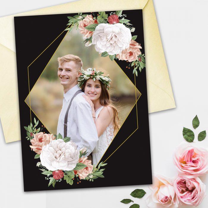 invitatie de nunta cu poza